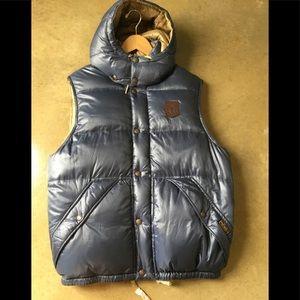Polo by Ralph Lauren down hooded vest sz M